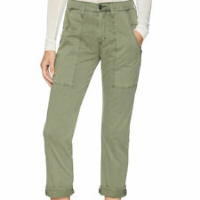 Hudson Jeans Size 32 The Leverage Stretch High Rise Ankle Cargo Pants WHA278TWL