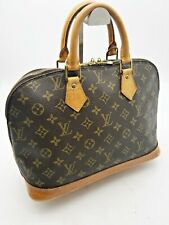 Louis Vuitton Hand Bag Alma Monogram Genuine