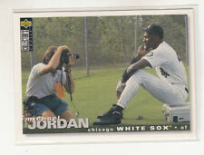 MICHAEL JORDAN 1995 Collector's Choice #500 Chicago White Sox Baseball Bulls