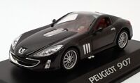 Norev 1/43 Scale Model Car 479700 - Peugeot 907 - Metallic Black