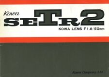 Kowa Setr2 instruction Manual