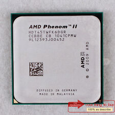 AMD Phenom II X6 1045T Six Core CPU Socket AM3 (HDT45TWFK6DGR) 2.7 GHz/6M/667