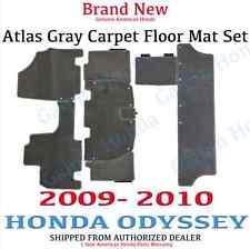2009-2010 Genuine OEM Honda Odyssey Atlas Gray Carpet Floor Mats 83600-SHJ-A51ZC
