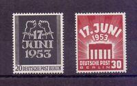 Berlin 1953 - Volksaufstand - MiNr.110/111 postfrisch** - Michel 50,00 € (641)