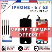 LCD Ecran Remplacement Pour iPhone 6/6S Noir ou Blanc+ Outils Et Verre Trempe
