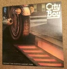 "City Boy - The Day the Earth Caught Fire 12x12""promo Poster 1 Sided"
