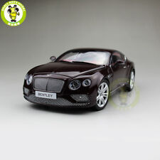 1/18 Paragon Bentley Continental GT Burgundy Diecast Model car toy Red PA-98221