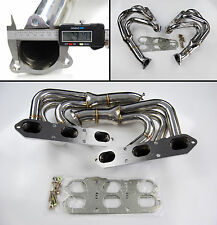 STAINLESS STEEL EXHAUST MANIFOLD FOR PORSCHE 911 996 3.4 3.6 99-04 NON TURBO