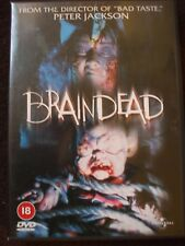 Braindead DVD.Peter Jackson's Cult Horror.OOP..Disc Is In Very Good Condition.