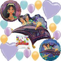 Aladdin Party Supplies Birthday Balloon Decoration Deluxe Bundle with Birthday