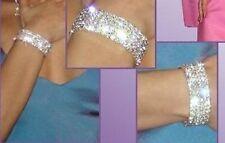 Bracelet with Five Thread Glass Austrian
