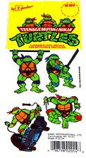 Ninja Turtles Bicycle Sticker Collection - NINJA TURTLES Sticker Collection