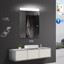 LED Wand Badezimmerspiegel in Warm/Kaltweiß Bluetooth-Lautsprecher SMY61X80