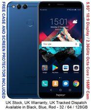 """Huawei Honor 7X 128GB 5.93"""" 2160*1080 Display Kirin 659 Octa Core 4GB RAM 16MP"""