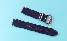 Zuludiver Reloj Correa De Cuero Negro 22mm