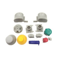 1 Set Mod ABXY Buttons Caps Thumb Sticks Touch Keys for NGC GameCube Controller