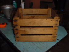 VINTAGE WOOD APPLE FRUIT POTATO CRATE BOX 15 x 12 x 10