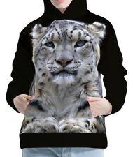 Unbranded Plus Size Leopard Hoodies & Sweats for Women