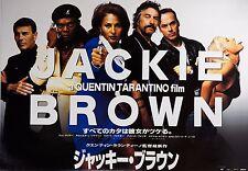 Jackie Brown 1997 Mini Movie Poster Chirashi B5 Quentin Tarantino Pam Grier