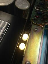 Vintage McIntosh MC2205 meters LED lamps.