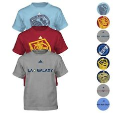 MLS Adidas Short & Long Sleeve Team Graphic T-Shirt Collection Boys (4-7)