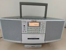Sony Portable CD Tape Radio Aux in/out Optical Out MD Line Boombox 27D