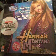 Disney Hannah Montana Mattel DVD Game Sealed - Miley Cyrus - Music- Singing