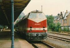 Foto BR 219 Bf Greiz 1996 10x15cm V1927c