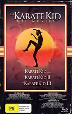 The Karate Kid Trilogy (Region Free) Blu-ray [VHS Edition] 1 2 3