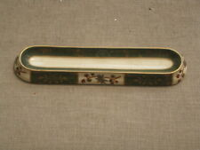Victorian green and gold pen rest