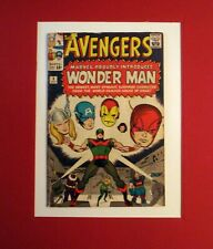 AVENGERS #9  1ST WONDER MAN  1964  WHITE PAGES  VG+   NO RESTO  IRON MAN THOR