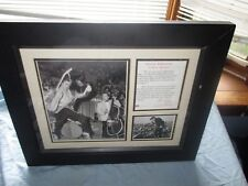 ELVIS FRAMED PHOTOS WITH CONTROVERSAL CONCERT LEG MOVEMENTS AND WIGGLES