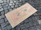 Doormats, Turkish rug, Vintage rug, Handmade rug, Small rug | 1,4 x 2,6 ft