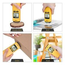 LCD Wood Moisture Meter Analyzer Humidity Tester Timber Damp Detector Hygrometer