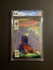 AMAZING SPIDER-MAN #305 (9/88) CGC 9.0 (W/P) TODD MCFARLANE COVER. NEW CASE!