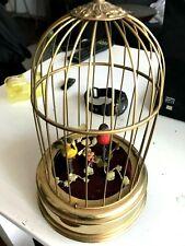 Karl Griesbaum Singvogelautomat Singvogel Spieluhr Antik Vintage Vogelkäfig