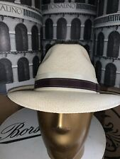 Bailey Panama Men's Straw Hat Made In USA Size 7 1/4