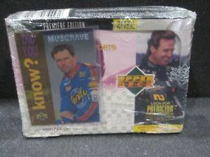 FACTORY SEALED 1995 UPPER DECK MOTORSPORTS BOX SERIES 2 NASCAR PREMIER MUSGRAVE