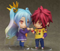 "Anime No Game No Life zero PVC Action Figure Model Toy 4"" in Box Collection Gift"
