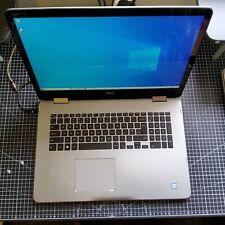 "Dell Inspiron 17 7778 17.3"" i7 16GB SSD+HDD 1TB FHD Laptop Iris READ DESCRIPTION"