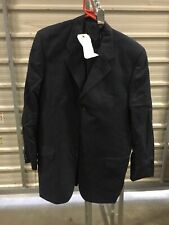 80's Navy Blue Black Suit Fancy Dress