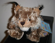 Webkinz LYNX * with SEALED ATTACHED CODE * HARD TO FIND ~ FREE S/H