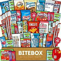 BiteBox Care Package (45 Count) Snacks Food Cookies Granola Bar Chips