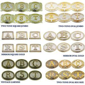 Initial Belt Buckles Styles Letters A B C D E F G H I J K L M N O P Q R S T U V
