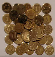 50 COIN LOT 1 Agora Israeli Israel Coins from the New Sheqel Series Holy Land
