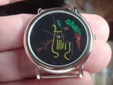 "Corum - Jean Cocteau Watch - ""Rare"" - Black Dial - Sterling Silver - Swiss Made"