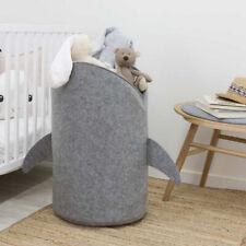 Shark Design Laundry Toys Basket Storage Bag,Made Premium Quality Felt