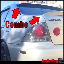 Lexus IS300 2000-05 SpoilerKing Rear Roof Spoiler & Trunk Wing Combo (380R/301G)