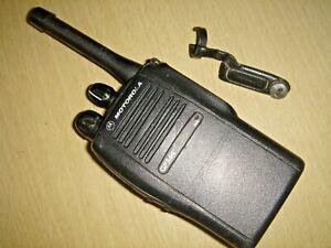 Motorola GP344 UHF 403-470MHz handportable c/w new battery & antenna #4