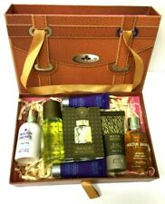 MOLTON BROWN GIFT SET OF 7 ITEMS WASH LOTION SHAMPOO HAND CREAMS SEE DESCRIPTION